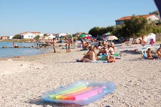 Chorwacja kwatery wyspa rab zdjęcia prywatne lopar